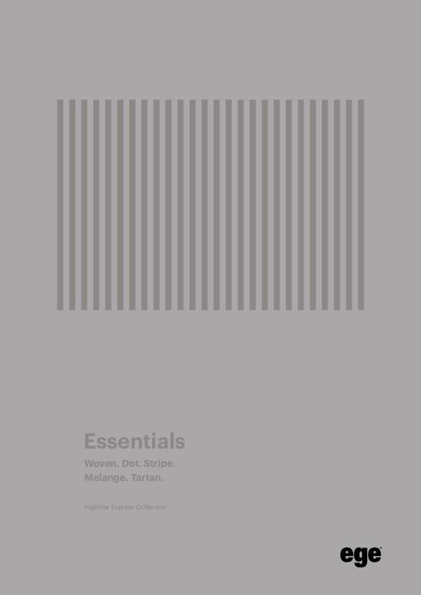 essentials - Ковровые покрытия Ege Highline