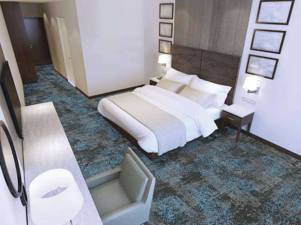 72 dpi 4a3v roomset carpet ilda 991 blue 4 - Ковровое покрытие Balsan Ilda 991