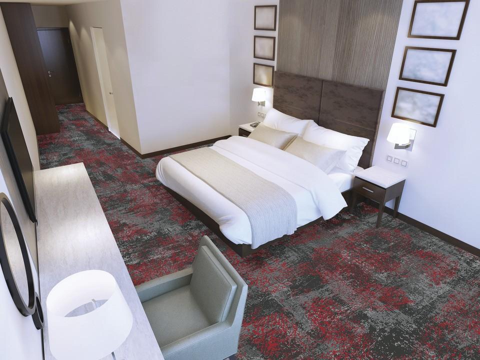 72 dpi 4a3v roomset carpet ilda 995 red 5 - Ковровое покрытие Balsan Ilda 995
