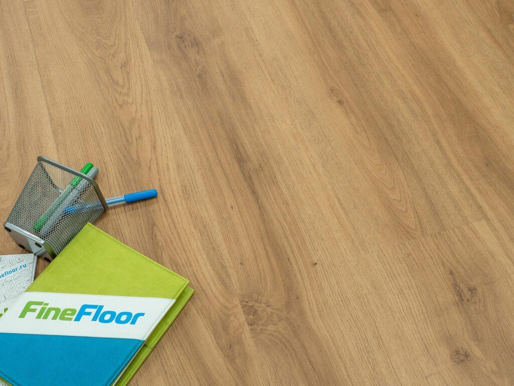 ff 1409 1 1024x768 - Кварц-виниловая плитка FineFloor Wood FF-1509 Дуб Орхус
