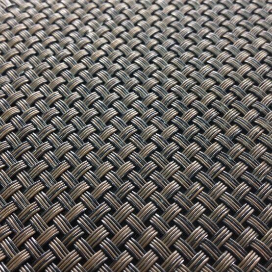 eco 44010  555x555 - Плетеное виниловое покрытие Hoffmann ECO 44010